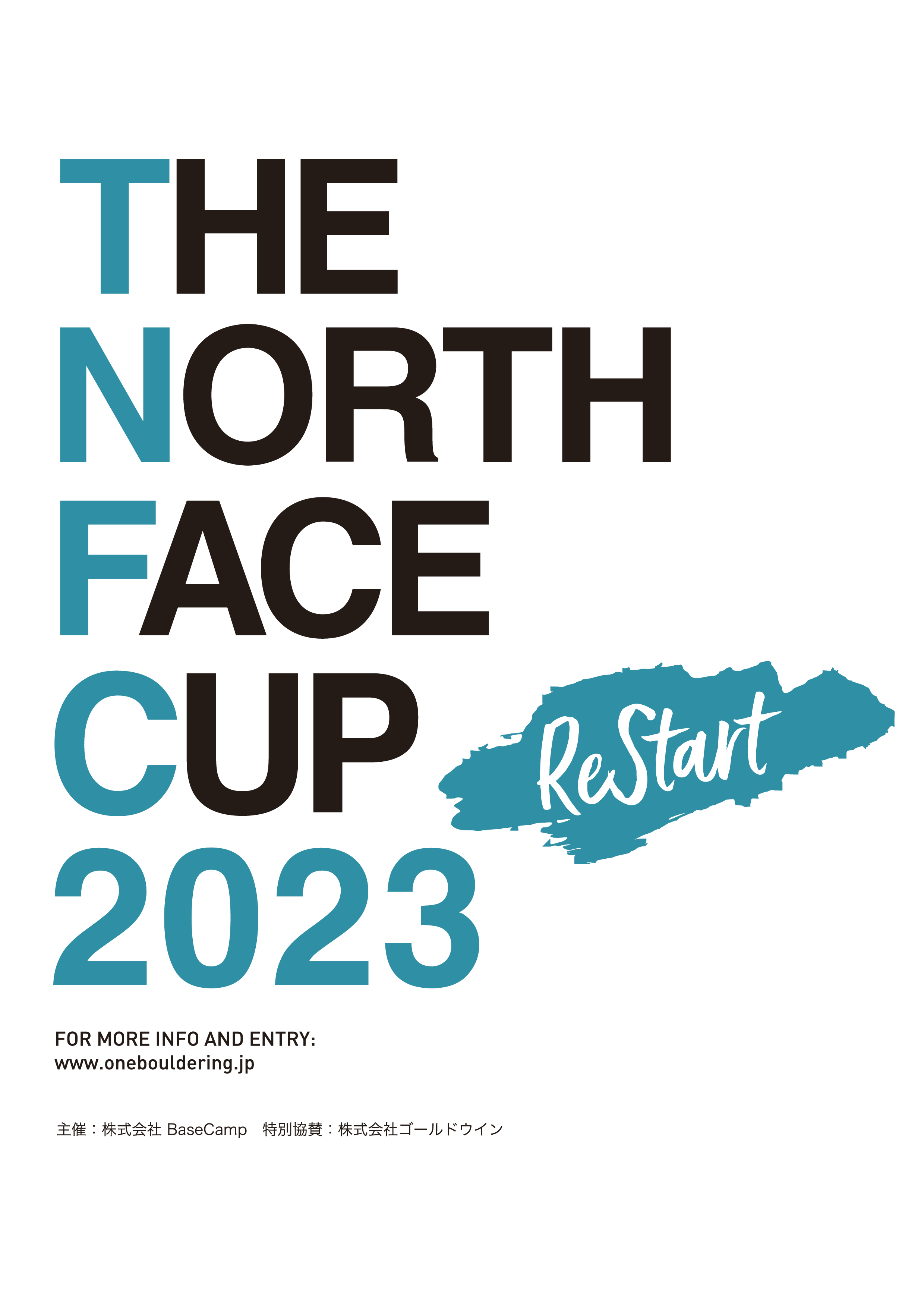 THE NORTH FACE CUP 2023  ReStart